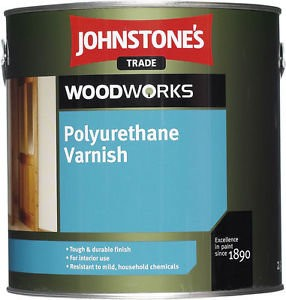 Johnstones Polyurethane Varnish Clear Satin лак для панелей 5л