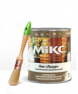 Miks color лак Лазурь 2.2кг