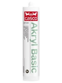 CASCO AKRYL BASIC однокомпонентный герметик 300мл