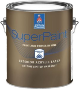 Sherwin Williams SuperPaint Exterior фасадная краска 3.78л